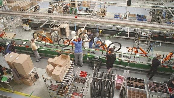 Diamant Fahrradwerk in Hartmannsdorf