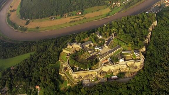 Der Osten - Entdecke , wo du lebst - Festung Königstein