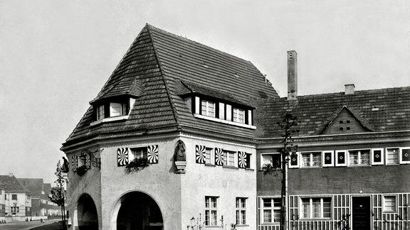 Gartenstadt Piesteritz: Damenheim - Aus der Piesteritz-Serie von Klaus Beneke