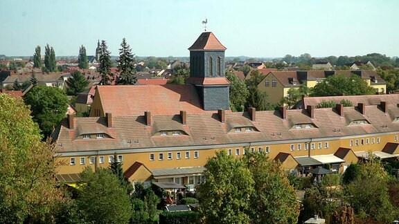 Die Gartenstadt Piesteritz heute.