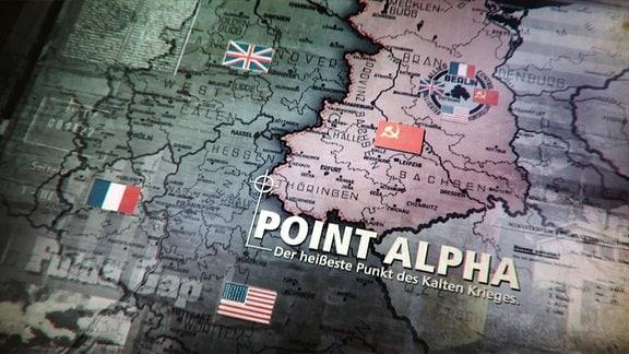 Text auf Karte