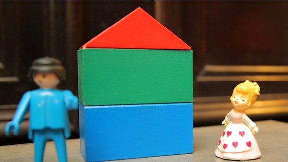 Zwei Spielfiguren