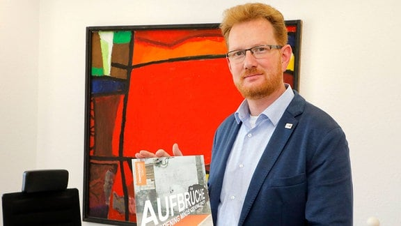 Ferenc Czk, Projektleiter der Kulturhauptstadtbewerbung Chemnitz