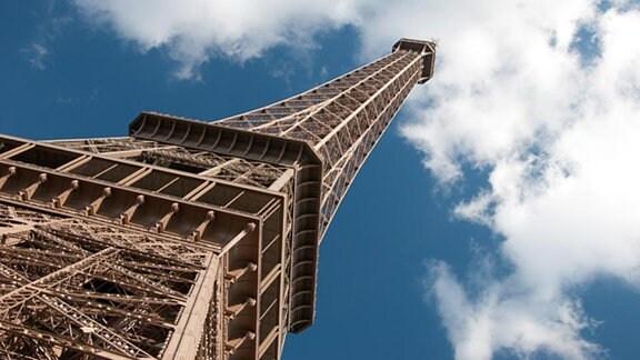 Der Pariser Eiffelturm.