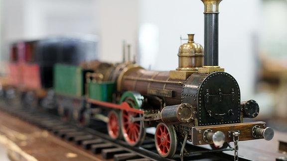 Eine Modelleisenbahn