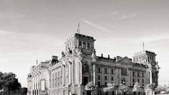 Der ehemalige deutsche Reichstag in Berlin