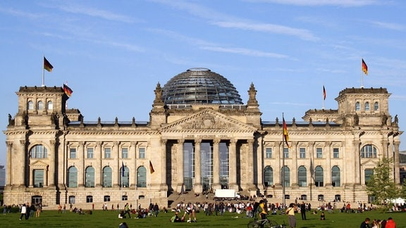 Ehemaliger Reichstag in Berlin