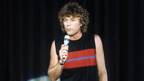 Bernhard Brink bei Schlager, Hits und Gespräche im September 1983