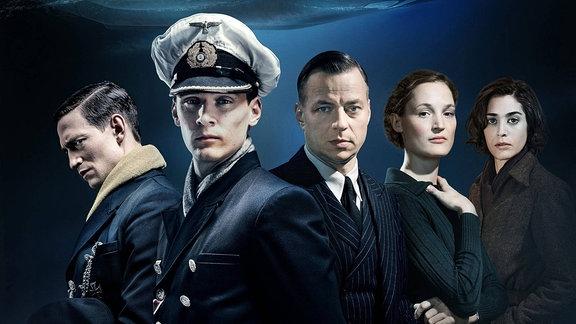 """Die Schauspieler von """"Das Boot""""."""