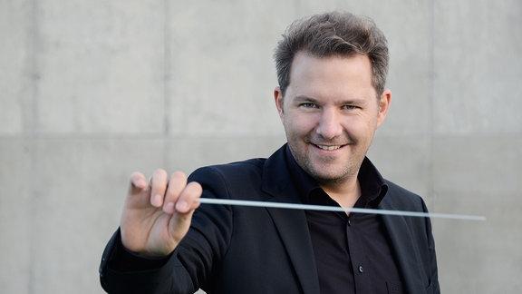 Dirigent Johannes Klumpp