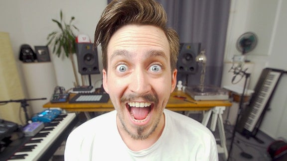 Workshop mit YouTube-Star 'The Clavinover' alias Marti Fischer