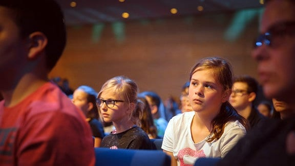 Zuschauer beim Finalkonzert zum Händel-Experiment