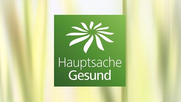 """Logo der Sendung """"Hauptsache gesund"""""""