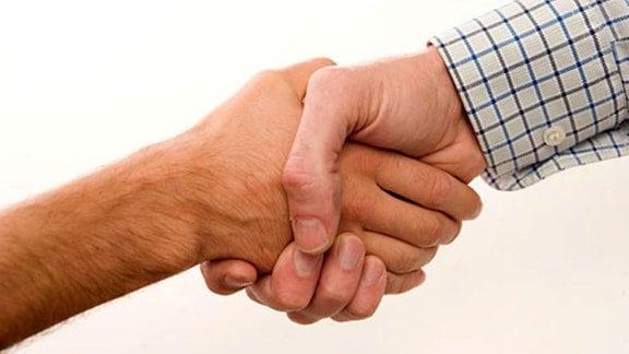 Ein Händedruck