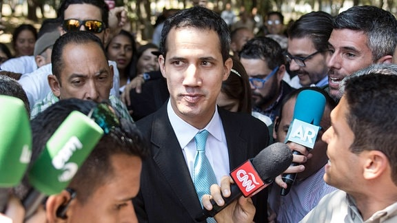 Verhältnis Russlands zu Venezuela: Juan Guaido
