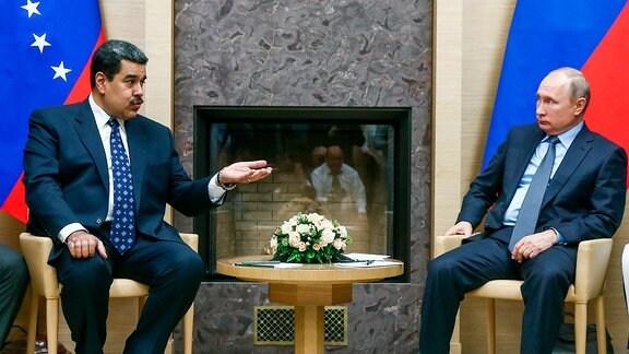 Verhältnis Russlands zu Venezuela: Maduro und Putin