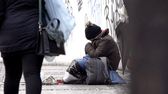 Obdachlose Polen