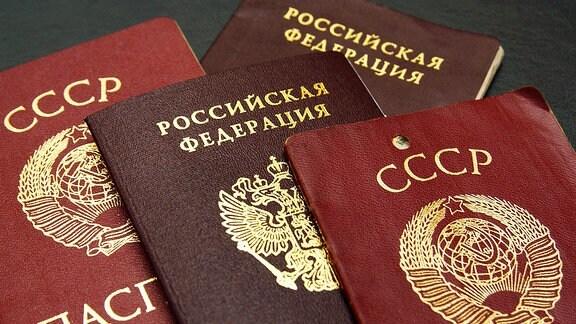 Pässe aus Russland und der Sowjetunion (2004)