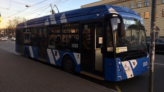 Verkehrsmittel in Petersburg