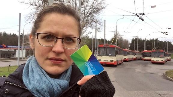 Trolleybusse in Vilnius