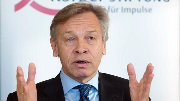 Alexej Puschkow ist Vorsitzender des Auswärtigen Ausschusses der Staatsduma.