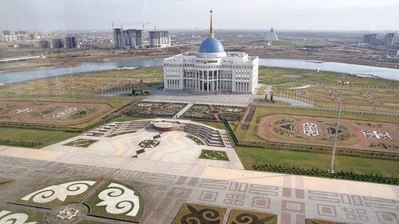 Präsidentenpalast in Astana , Kasachstan.