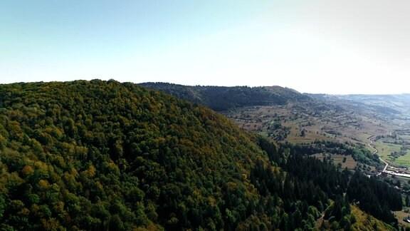 Rumänische Berglandachaft