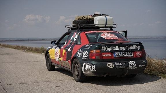 Rallye Fahrzeug Audi A4