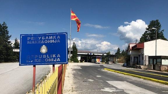 Grenzübergang von Bulgarien nach Mazedonien