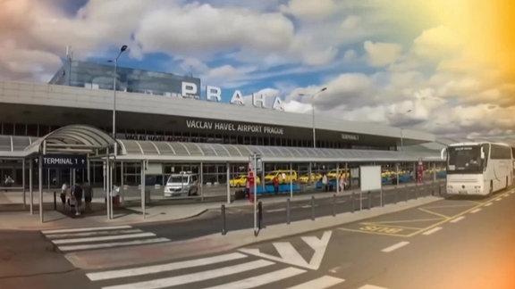 Der Flughafen in Prag