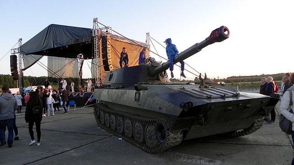 gepanzertesw Fahrzeug in Redzikowo