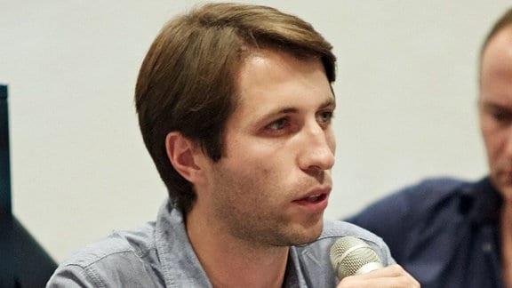 Szabolcs Sepsi von der Beratungsstelle Faire Mobilität in Dortmund
