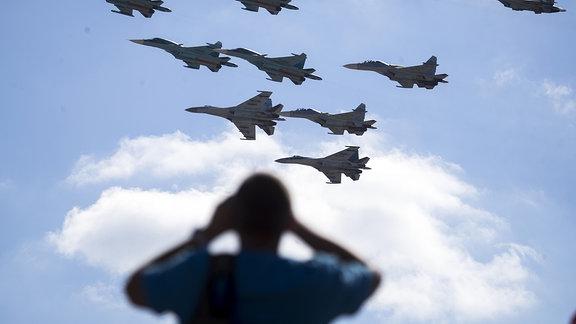 Russland Militärübung