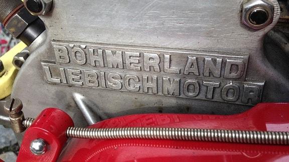 Nahaufnahme eines Liebisch-Motors