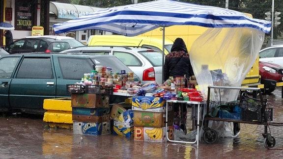 Illegaler Verkauf von polnischen Produkten