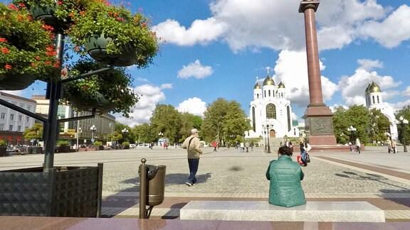 Platz des Sieges in Kaliningrad