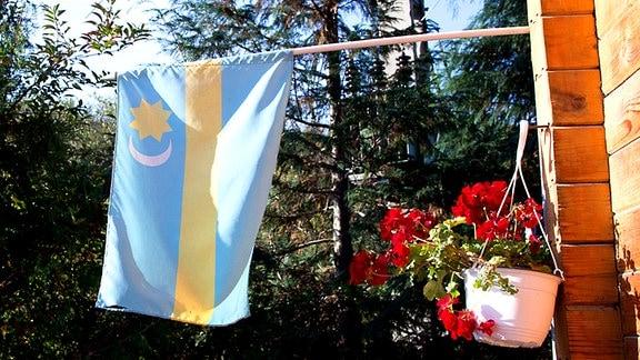 Szeklerfahne der ungarischen Szekler in Rumänien