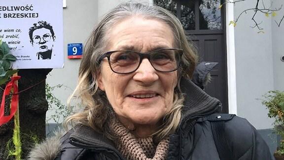 Ewa Andruszkiewicz - Rentnerin und Aktivistin