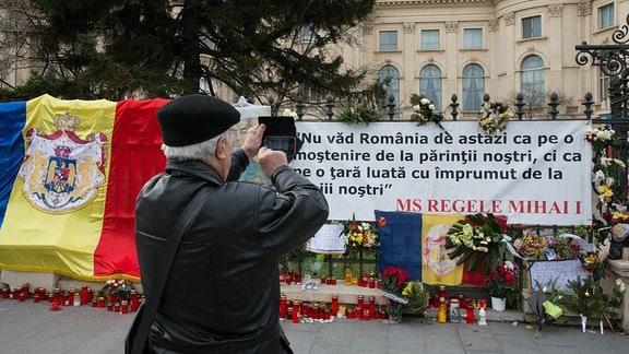 Zitat der Rede des verstorbenen rumänischen Ex-Königs aus seiner Rede vor dem Bukarester Parlament 2011