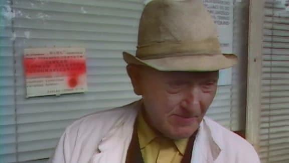 ein Mann mit Hut
