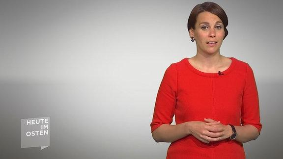 Moderatorin Karoline Scheer