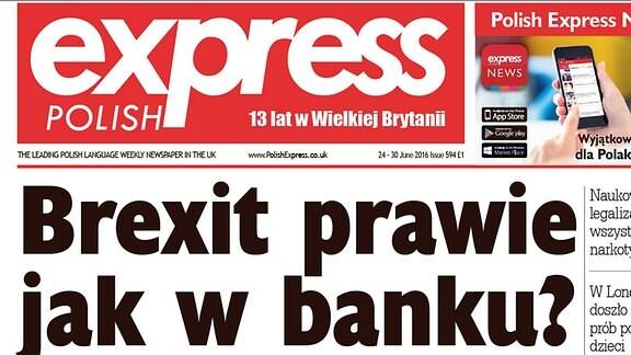 HIO Polen England Zeitung