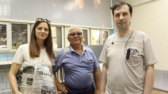 Druckerei Deutsche Allgemeine Zeitung Almaty Team