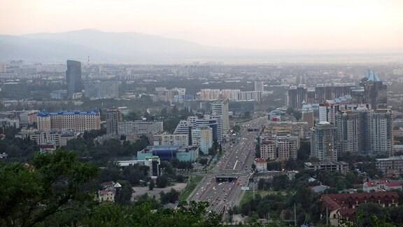 Innenstadt von Almaty (Kasachstan)