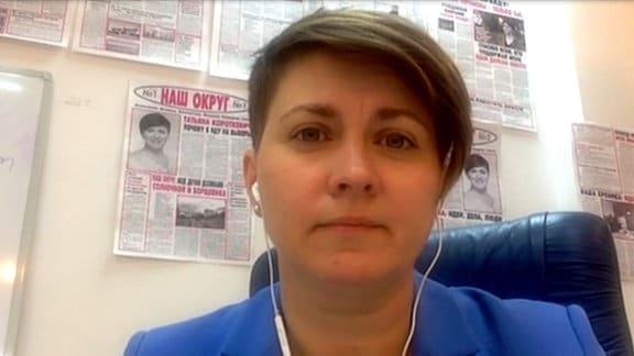 Tatjana Karatkewitsch, weißrussische Bürgeraktivistin