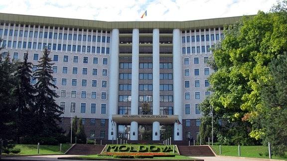 Chisinau Parlamentsgebäude der Republik Moldau.