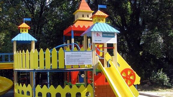 Kinderspielplatz in Chisinau, Hauptstadt der Republik Moldau