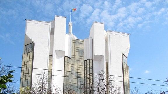 Der Präsidentenpalast in Chisinau.