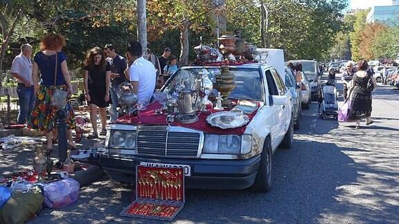 Flohmarkt in Tbilisi
