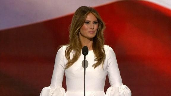 Melania Trump: Ehefrau, Supermodel und morgen vielleicht First Lady von Amerika. Doch wie ist sie eigentlich so- Melania?